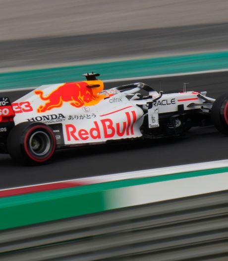 Verstappen komt niet aan toptijd Hamilton in eerste training Turkije