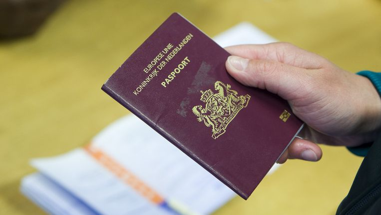 Het Nederlandse paspoort. Beeld anp