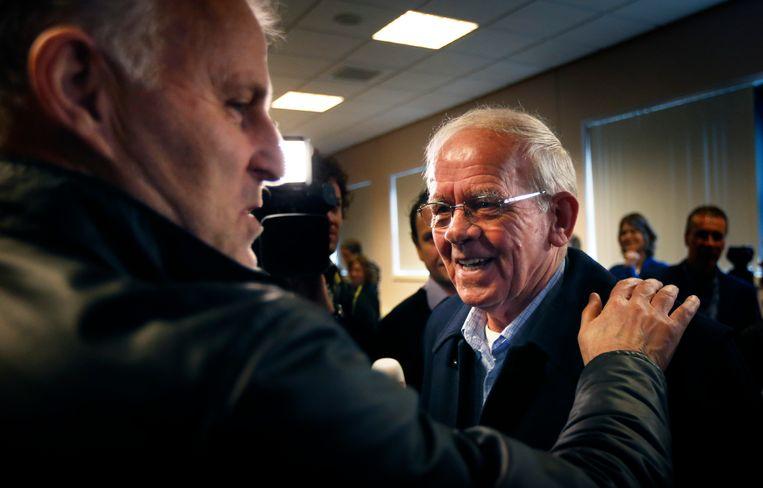 Bauke Vaatstra: 'Een enorme strijdlust, dat typeert Peter'. Beeld Hollandse Hoogte /  ANP