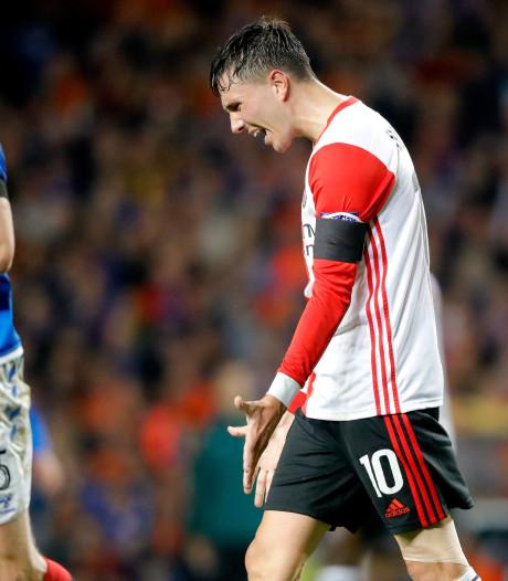 Zwakke eerste helft nekt Feyenoord tegen Rangers
