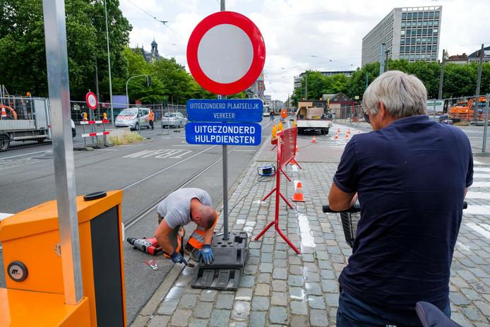 De 'knip van de Leien': het was in juni 2017 groot nieuws in Antwerpen.