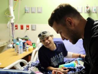 VIDEO. Patiëntjes kinderziekenhuis nemen video op voor Justin Timberlake. Hij verrast hen met bezoek