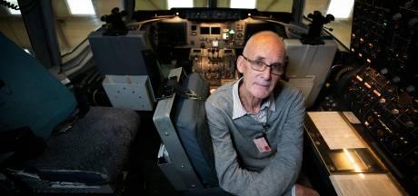 Oud-piloot neemt afscheid van DC-10 op Vliegbasis Eindhoven: 'Jeetje, wat een schermen'