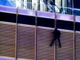Man hangt aan Trump Tower en dreigt te springen als hij Trump niet mag spreken