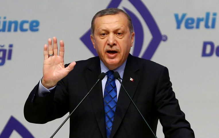 Erdogan. Beeld afp
