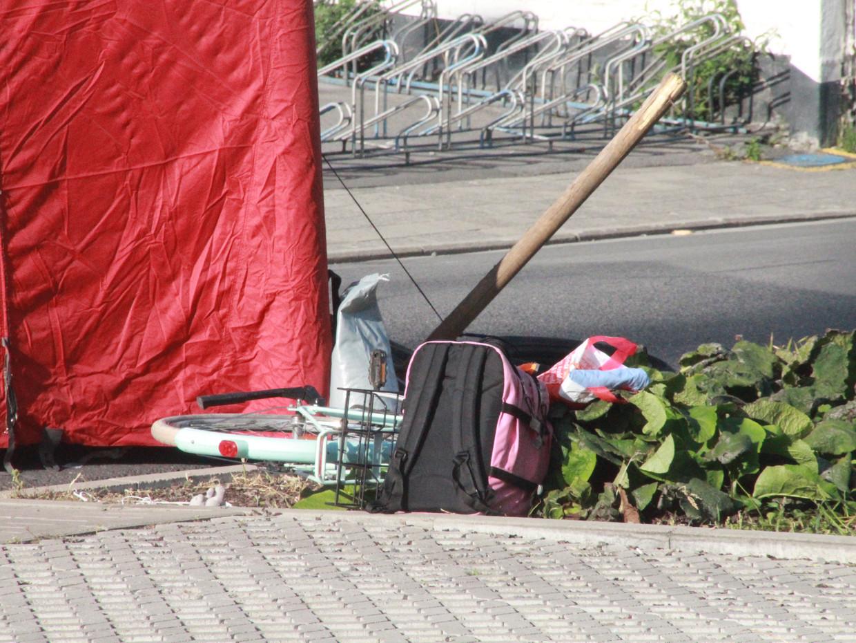 In Zwevegem is er een dodelijk ongeval gebeurd.  Beeld Alexander Haezebrouck