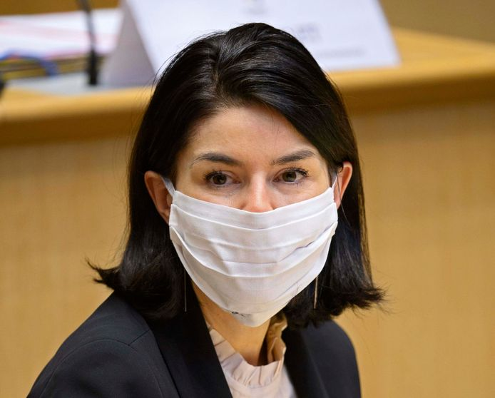 La ministre de l'Enseignement supérieur Valérie Glatigny (MR).