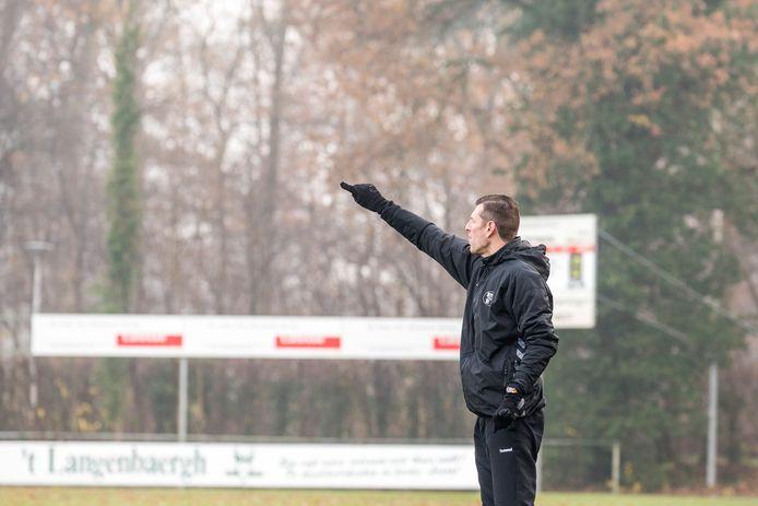 Witkampers-trainer Jeroen van der Tol.