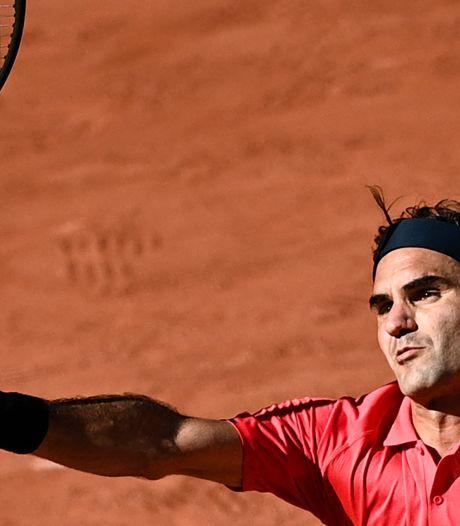 """Retour gagnant pour Federer à Roland-Garros: """"Je n'ai pas envie de rester à la maison"""""""