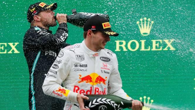 Dit is de stand in de Formule 1: Verstappen neemt koppositie weer over van Hamilton