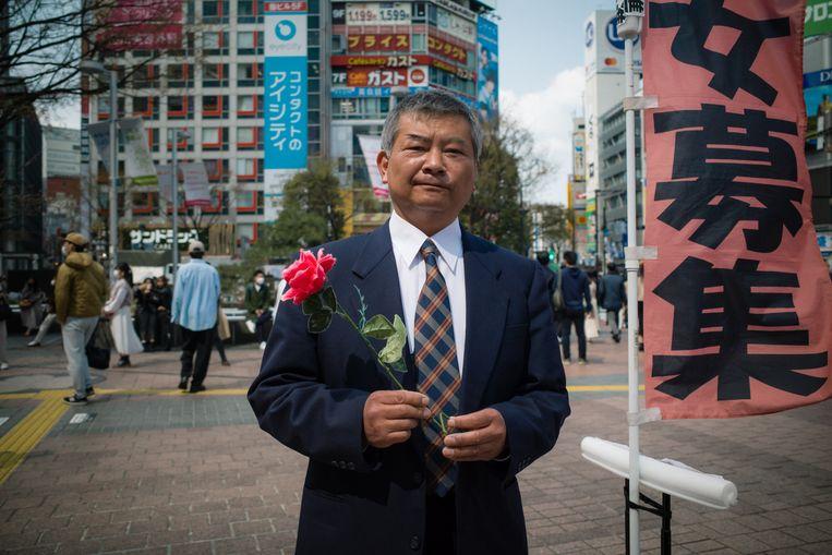 Yasushi Sonoda (59)  Beeld Kentaro Takahashi
