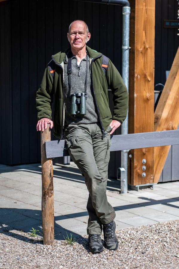 Boswachter Karel Leeftink