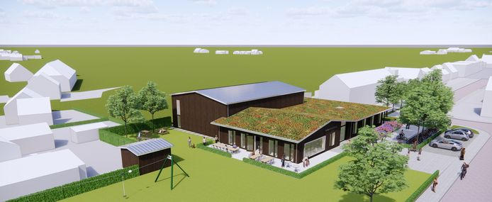 Bezoekers moeten het nieuwe Amicitia over ruim anderhalf jaar (voorjaar 2023) kunnen bezoeken.