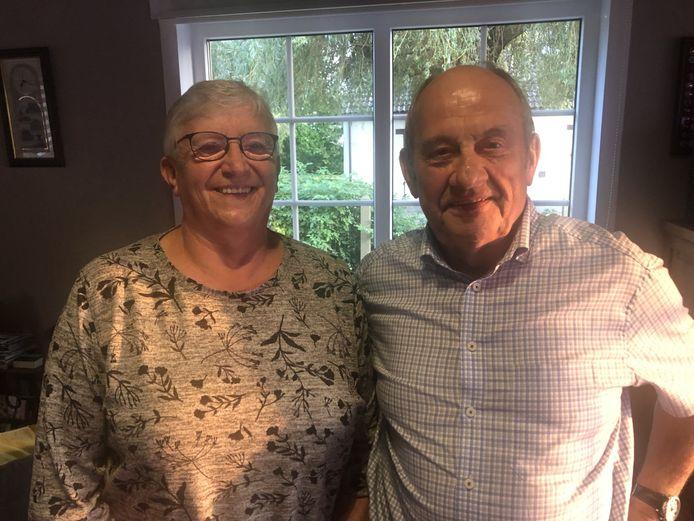 Ward Janssens supportert zondag voor Wout van Aert, zijn echtgenote voor Mathieu van der Poel.