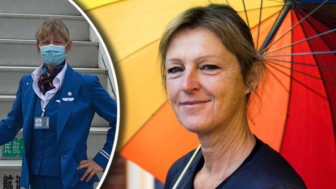 Van stewardess naar zorgmedewerker: Claudia (57) gooide door corona het roer radicaal om