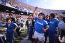 Op 10 mei 1987 werd Napoli voor het eerst kampioen van Italië. Drie jaar later volgde de tweede (en voorlopig laatste) landstitel van de club.