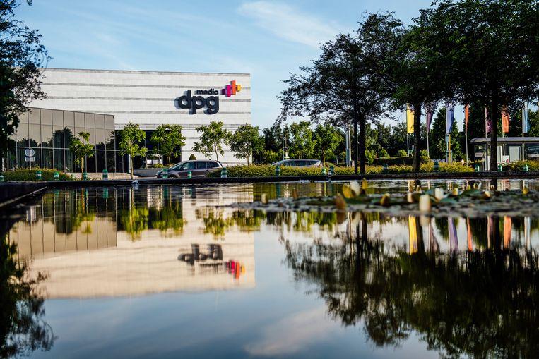 Het gebouw van DPG Media. Beeld VTM