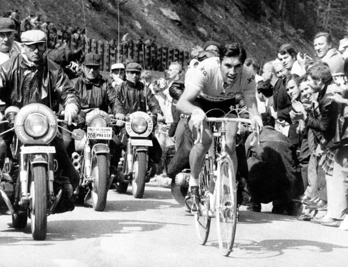 Eddy Merckx lors du Tour de France 1969