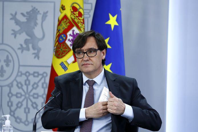 Salvador Illa, le ministre de la Santé