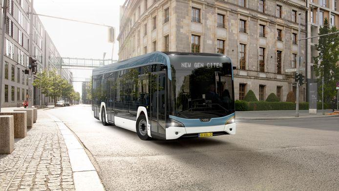 De nieuwe elektrische VDL Citea.