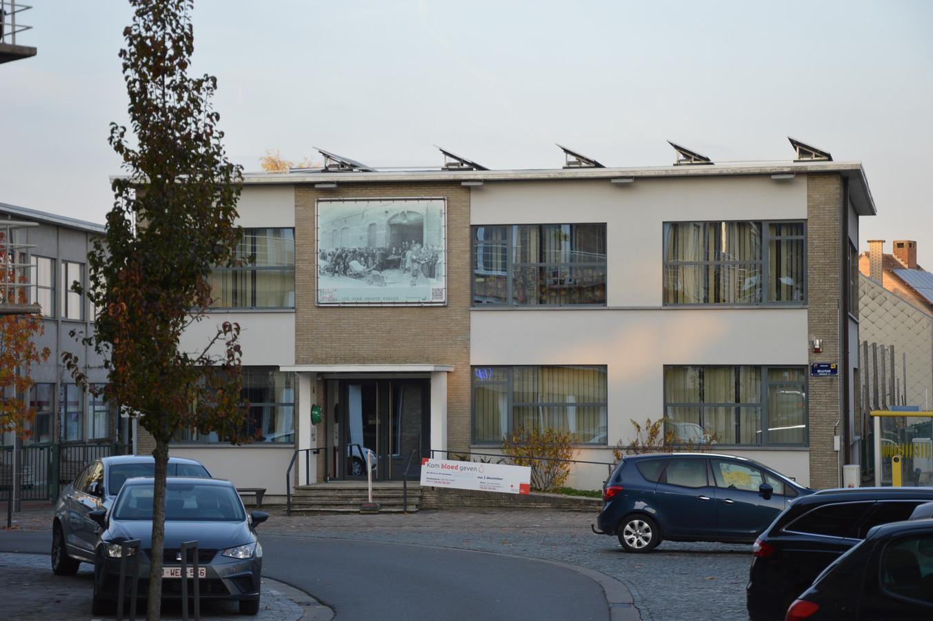 De gemeenteschool in Welle (Denderleeuw)