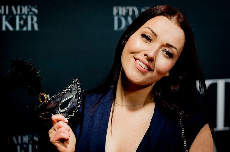 Beautyvlogger Mascha Feoktistova. Beeld Hollandse Hoogte /  ANP Kippa