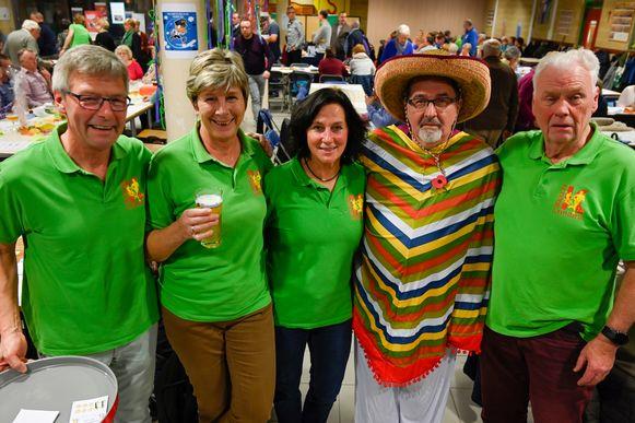 Op hun jaarlijkse kaas- en wijnavond maakten de Kloddelopers het nieuw thema bekend van de Zeelse Roparundoortocht: Mexico.
