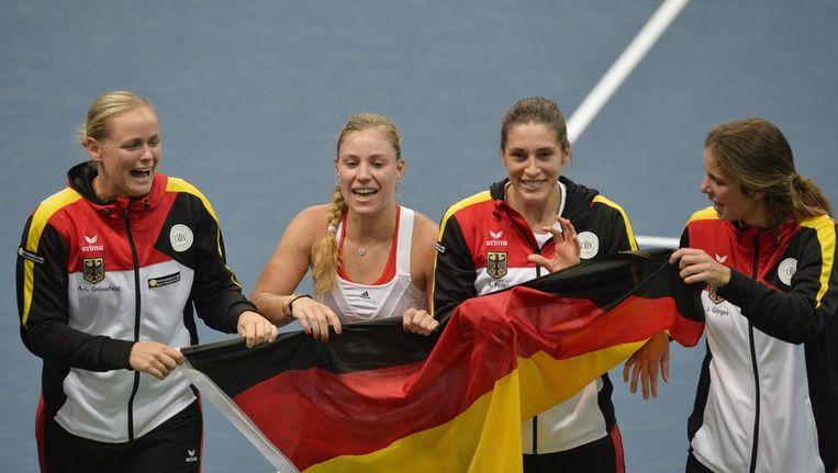Het Duitse team Beeld EPA