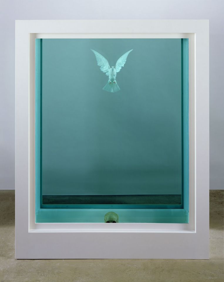 The Incomplete Truth, Damien Hirst, 2006.  Beeld Damien Hirst