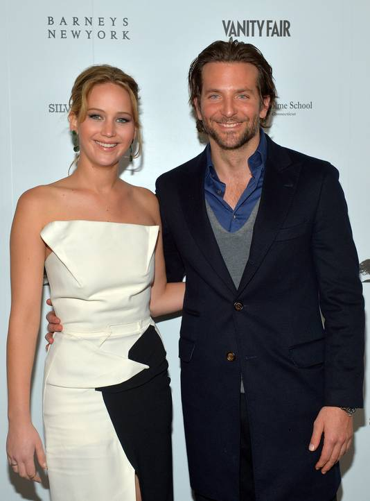 Bradley Cooper met Jennifer Lawrence.