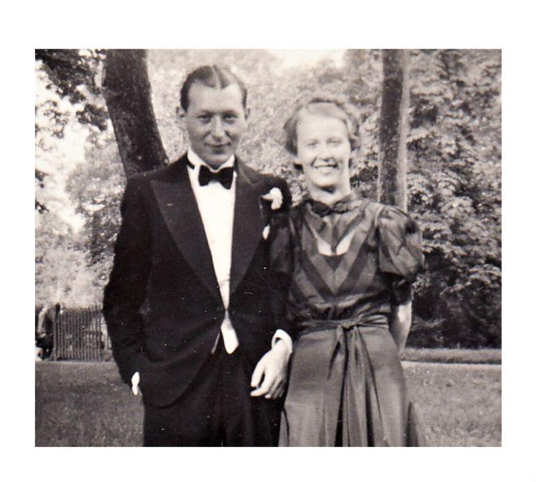 Joop en Lies Piller, circa 1937. Beeld Privéfoto familie Piller