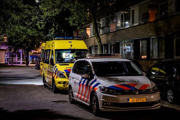 De 73-jarige vrouw raakte gewond bij de overval in haar woning.