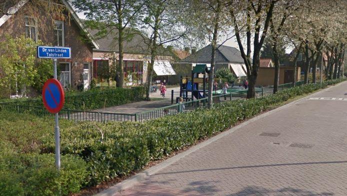School Het Tweespan aan de Dr. Van Linden Tolstraat in Schelluinen.