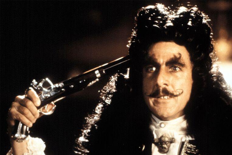 Dustin Hoffman in Hook. Beeld