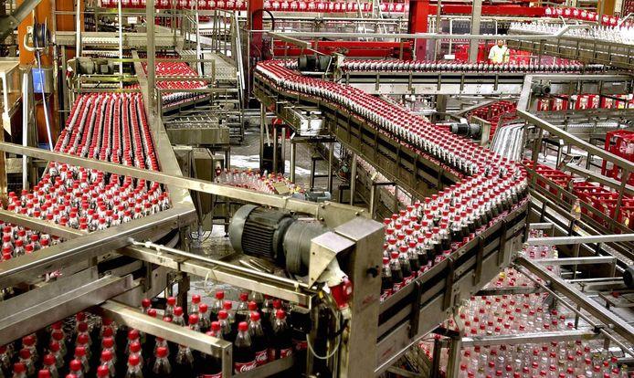 In Dongen staat de fabriek van Coca