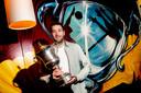 Mats Kruiswijk nam bij Dynamo afscheid met het landskampioenschap.