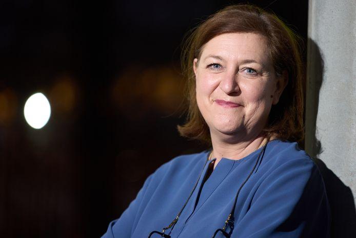 Kati Verstrepen, avocate et présidente de la Liga voor mensenrechten.