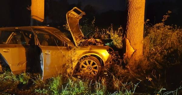 Meerdere gewonden bij eenzijdig ongeluk in Saasveld.