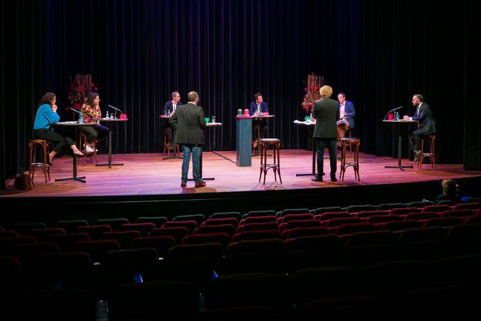 Afgelopen week gingen de Vughtse politieke partijen met elkaar in debat in Theater de Speeldoos.