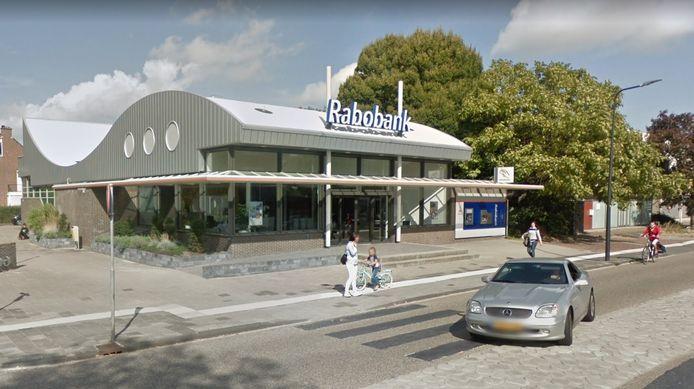 Het Rabobank-filiaal aan de Uiverlaan in Maassluis gaat niet meer open.