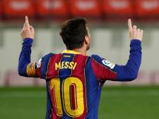 Un doublé et un nouveau record titanesque pour Lionel Messi