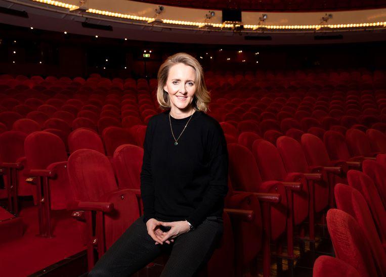 Sophie de Lint in het auditorium van Nationale Opera & Ballet. Beeld Judith Jockel