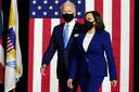Joe Biden en Kamala Harris.