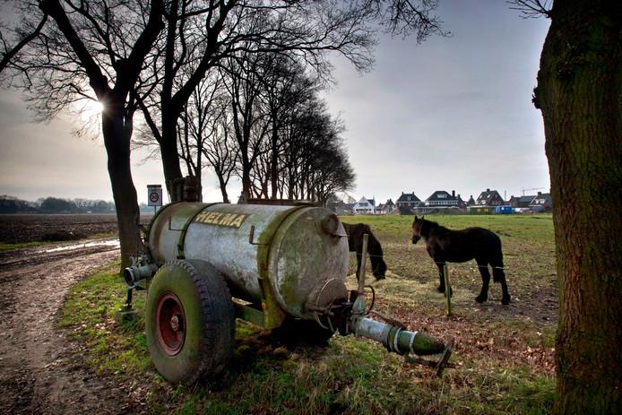 Het buitengebied van Deurne.