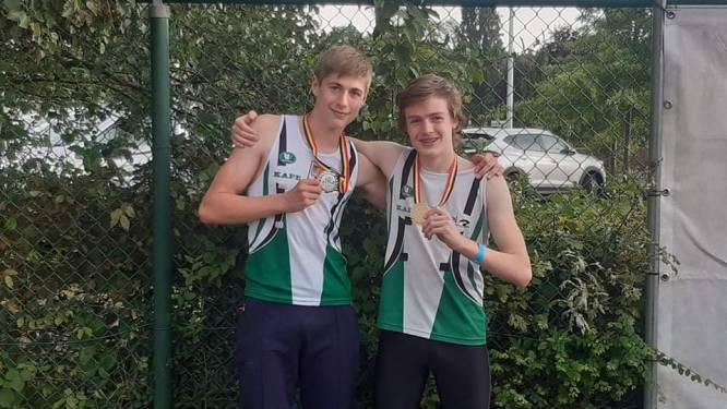 Vier medailles (en een afgenomen zilveren plak) voor atletiekclub uit Kapellen op Belgisch kampioenschap