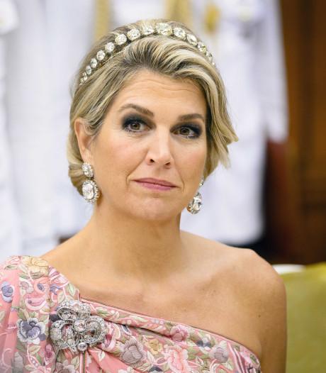 'Onvoorspelbare Máxima pakt uit met perfecte jurk voor het staatsbanket'