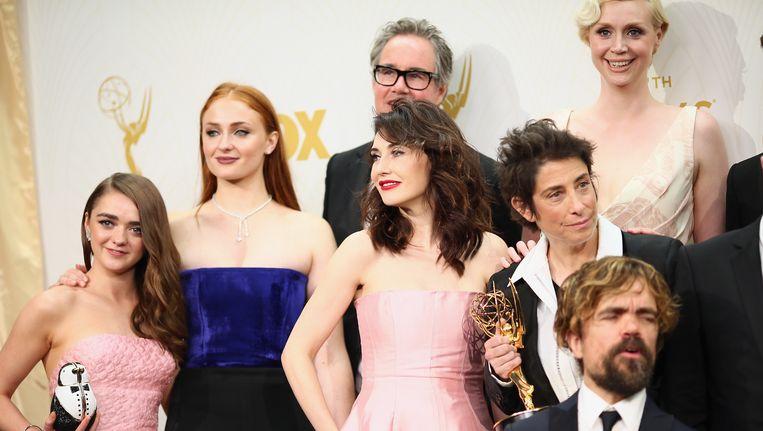 Een deel van de cast van Game of Thrones. Beeld getty