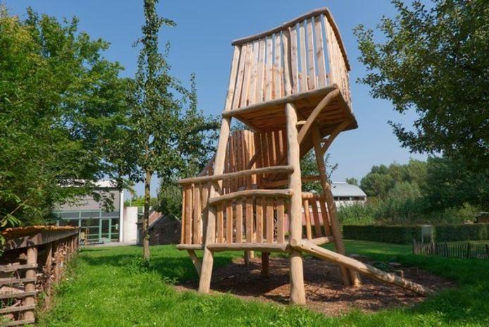 Nieuw! Klim- en uitkijktoren in De Helix