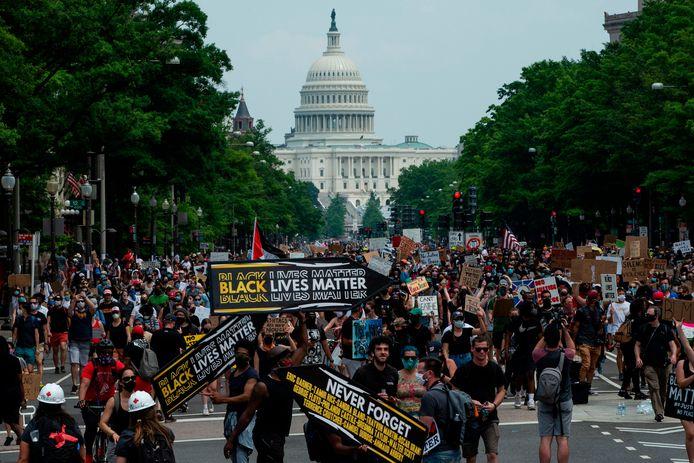Demonstranten in Washington D.C.