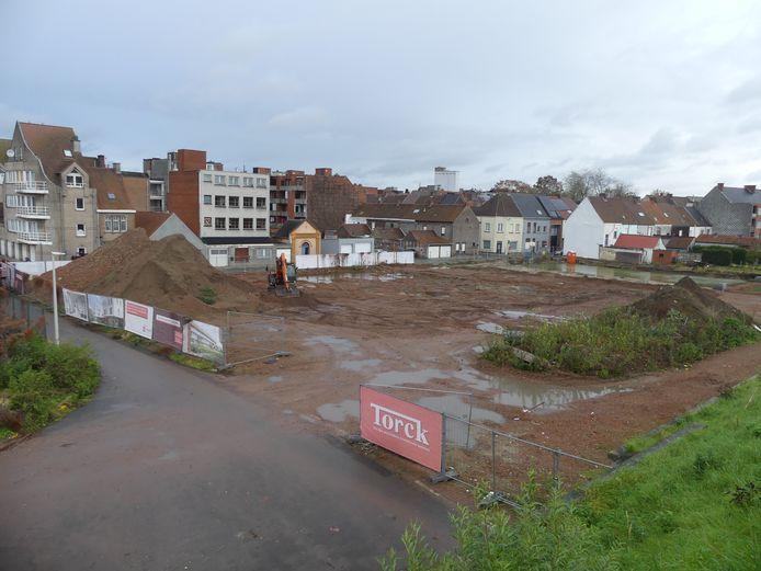 De werken op de Torck-site starten in januari.